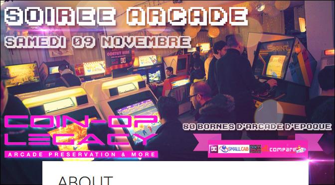 LEGACY #06 Soirée Arcade Samedi 09 Novembre !